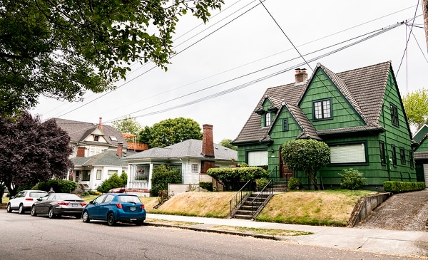 Single-family homes in Portland. (Wesley Lapointe)