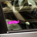 Lyft car with sticker (Tony Webster / Flickr)