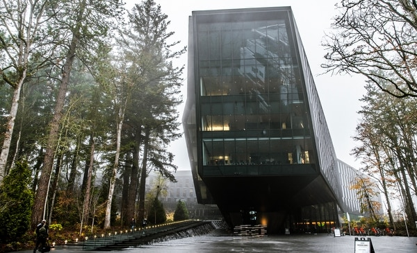 The Seb Coe Building on Nike's Beaverton campus. (Sam Gehrke)