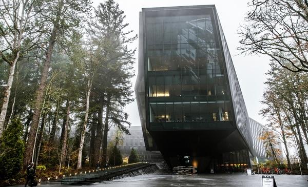 The Seb Coe Building on Nike's Beaverton campus. (Sam Gehrke)