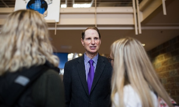 Ron Wyden. (Christine Dong)