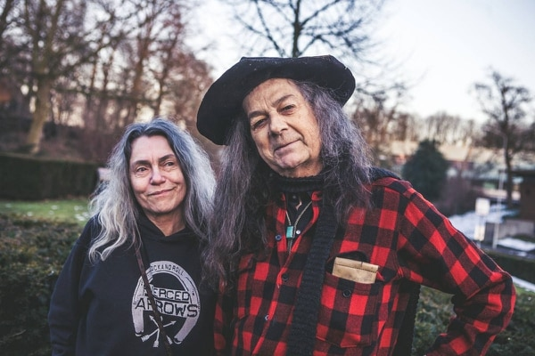 Toody Cole (left) with Fred Cole, who died in 2017. IMAGE: Mike Nicolaassen.