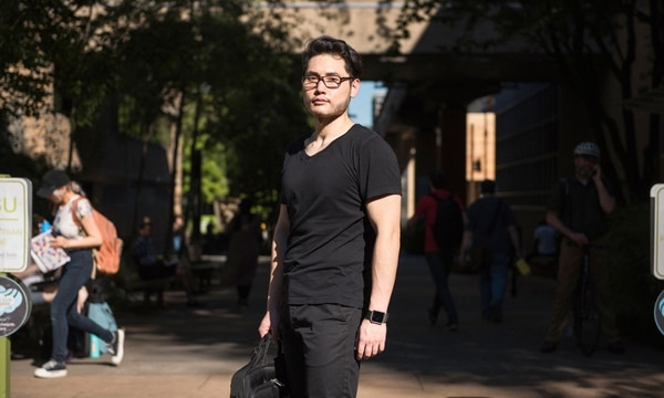 Two years before his encounter with antifascist milkshakes, Andy Ngo had been fired from a student newspaper for how he reported on a Muslim student. (Thomas Teal)