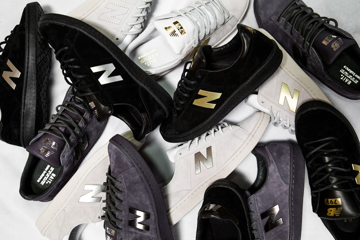 new balance 791 leather sneakers