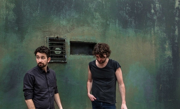 Japandroids' Dave Prowse (left) and Brian King. IMAGE: Camilo Christen.